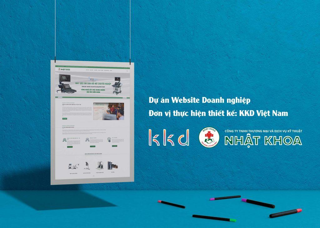 KKD thiết kế website Nhật Khoa