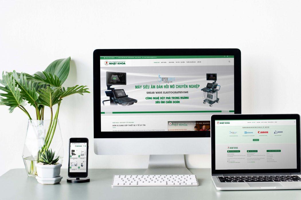 Công ty KKD thiết kế Website Nhật Khoa